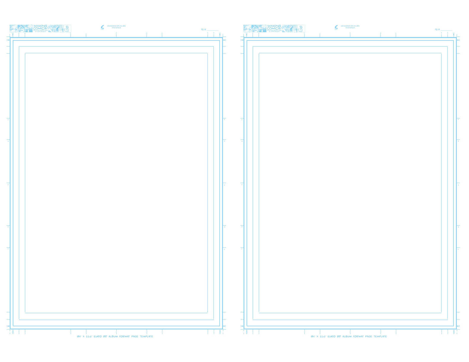 Page Aspect Ratios Templates Making Comics