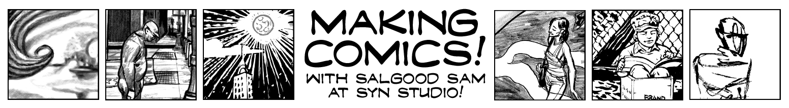 Making Comic with Salgood Sam!